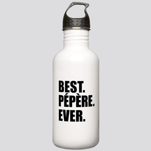 Best Pepere Ever Drinkware Water Bottle