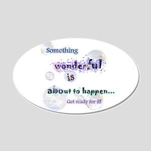 Something wonderful Decal Wall Sticker