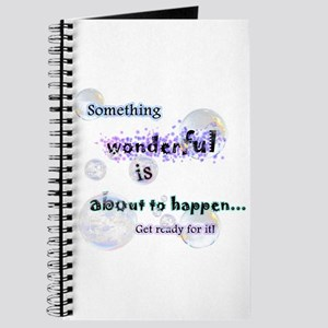 Something Wonderful Journal
