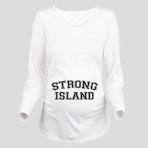 Strong Island Long Sleeve Maternity T-Shirt