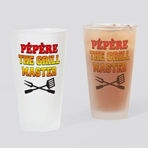 Pepere The Grill Master Drinkware Drinking Glass