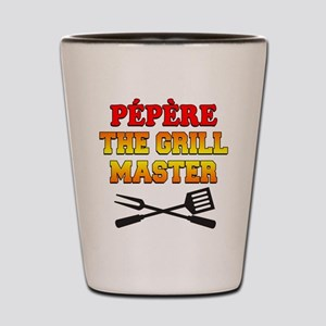 Pepere The Grill Master Drinkware Shot Glass