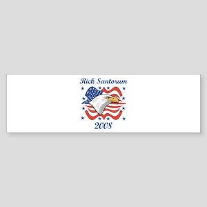 Rick Santorum 08 (eagle) Bumper Sticker