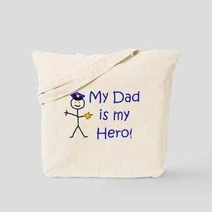 Police Kid Hero Tote Bag