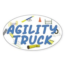 Agility Truck Oval Sticker