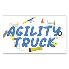 Agility Truck Rectangle Sticker