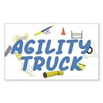 Agility Truck Rectangle Sticker