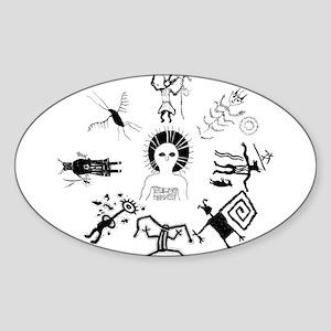 Shaman Circle Sticker