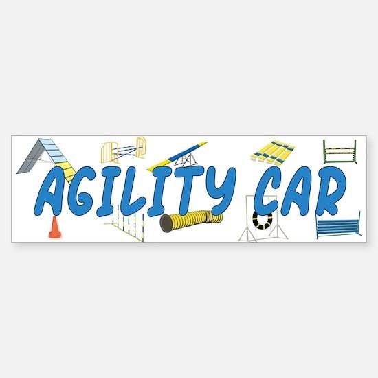 Agility Car Bumper Bumper Bumper Sticker