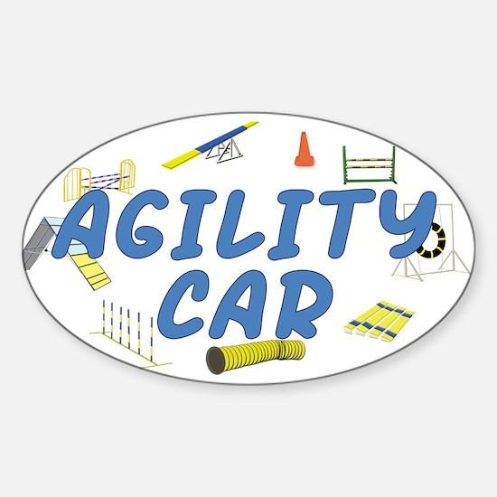 Agility Car Oval Decal
