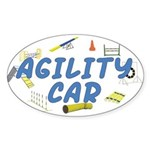 Agility Car Oval Sticker