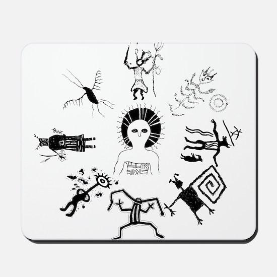 Shaman Circle Mousepad
