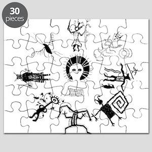 Shaman Circle Puzzle