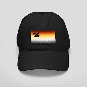 BEAR PRIDE FLAG FURRY LOOK Black Cap