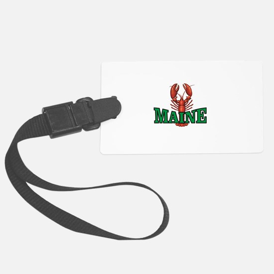 green maine lobster Luggage Tag