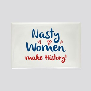 Nasty Women Rectangle Magnet