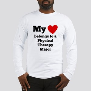 My Heart Belongs To A Physical Therapy Major Long