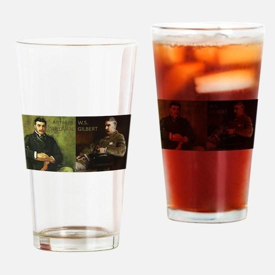 Cute Gilbert Drinking Glass