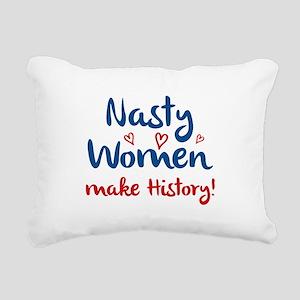 Nasty Women Rectangular Canvas Pillow