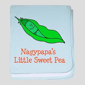 Nagypapa's Sweet Pea baby blanket