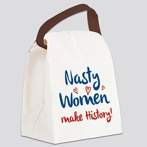 Nasty Women Canvas Lunch Bag