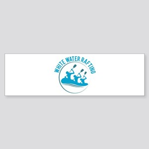 White Water Rafting Bumper Sticker