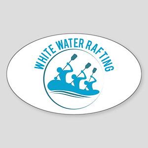 White Water Rafting Sticker