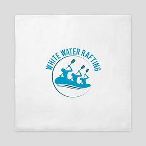 White Water Rafting Queen Duvet