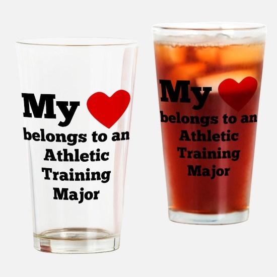 My Heart Belongs To An Athletic Training Major Dri