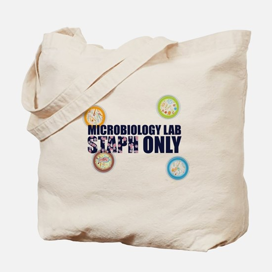 Microbiology Lab Staph Only Tote Bag