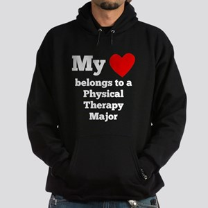 My Heart Belongs To A Physical Therapy Major Hoodi