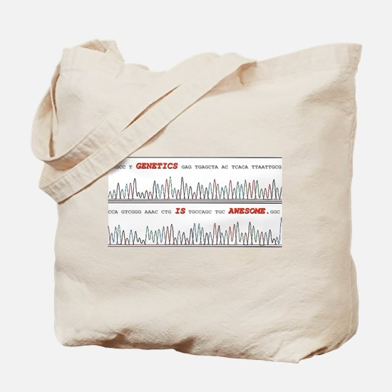 Genetics is Awesome Tote Bag