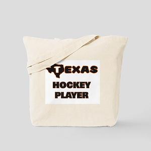 Texas Hockey Player Tote Bag