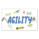 Agility Rectangle Sticker