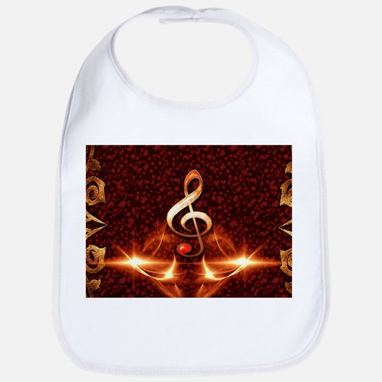 Decorative clef Bib