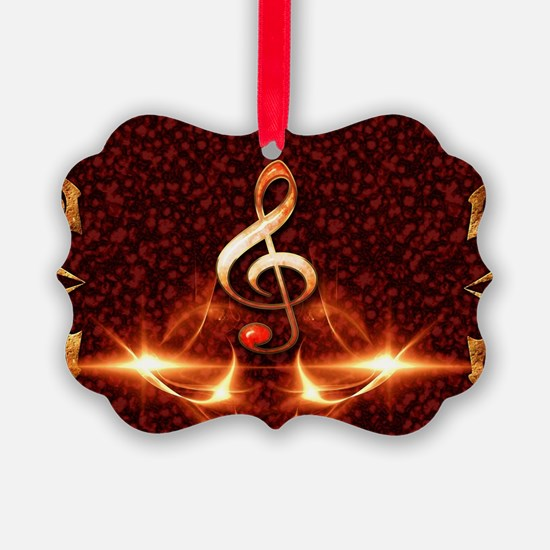 Decorative clef Ornament