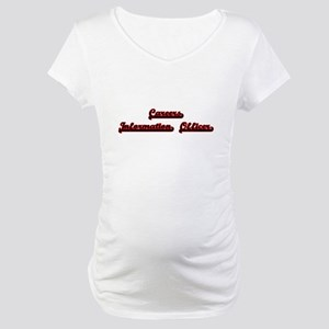 Careers Information Officer Clas Maternity T-Shirt