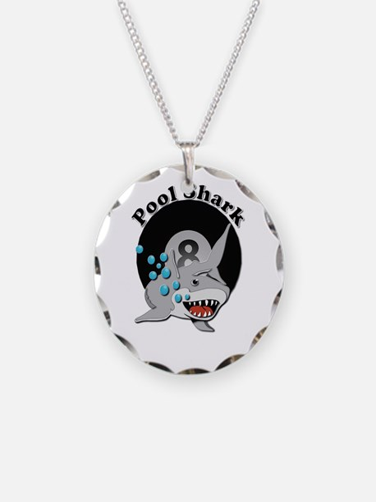 Eight Ball Pool Shark Necklace