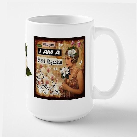 Steel Magnolia Large Mug Mugs