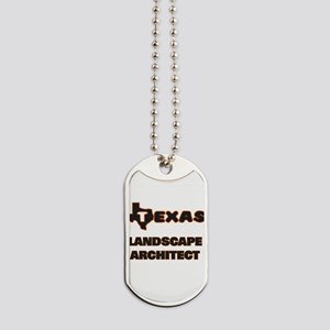 Texas Landscape Architect Dog Tags