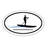 Russian River Paddle Boards Paddler Sticker