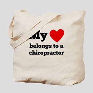 My Heart Belongs To A Chiropractor Tote Bag