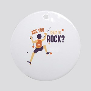 Ready To Rock Ornament (Round)