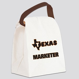 Texas Marketer Canvas Lunch Bag