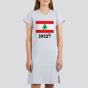 Lebanon Aramaic DS Women's Nightshirt