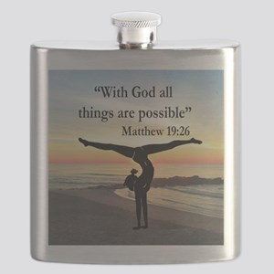 BLESSED GYMNAST Flask