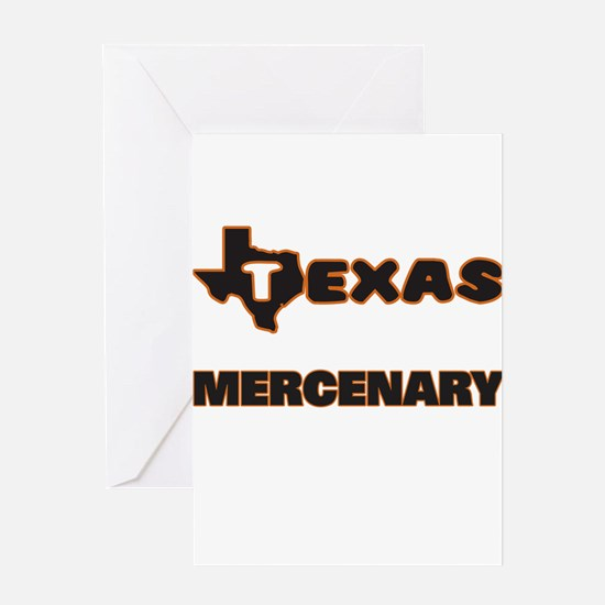Texas Mercenary Greeting Cards