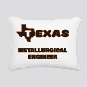 Texas Metallurgical Engi Rectangular Canvas Pillow