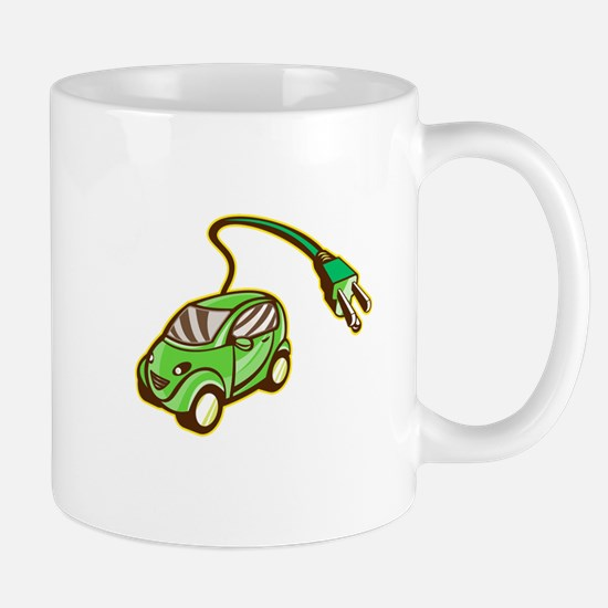 Plug-in Hybrid Electric Vehicle Isolated Mugs