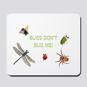 Cute bugs Mousepad